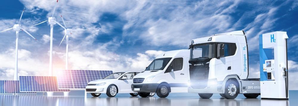 Bild von Wasserstoff fahrzeuge