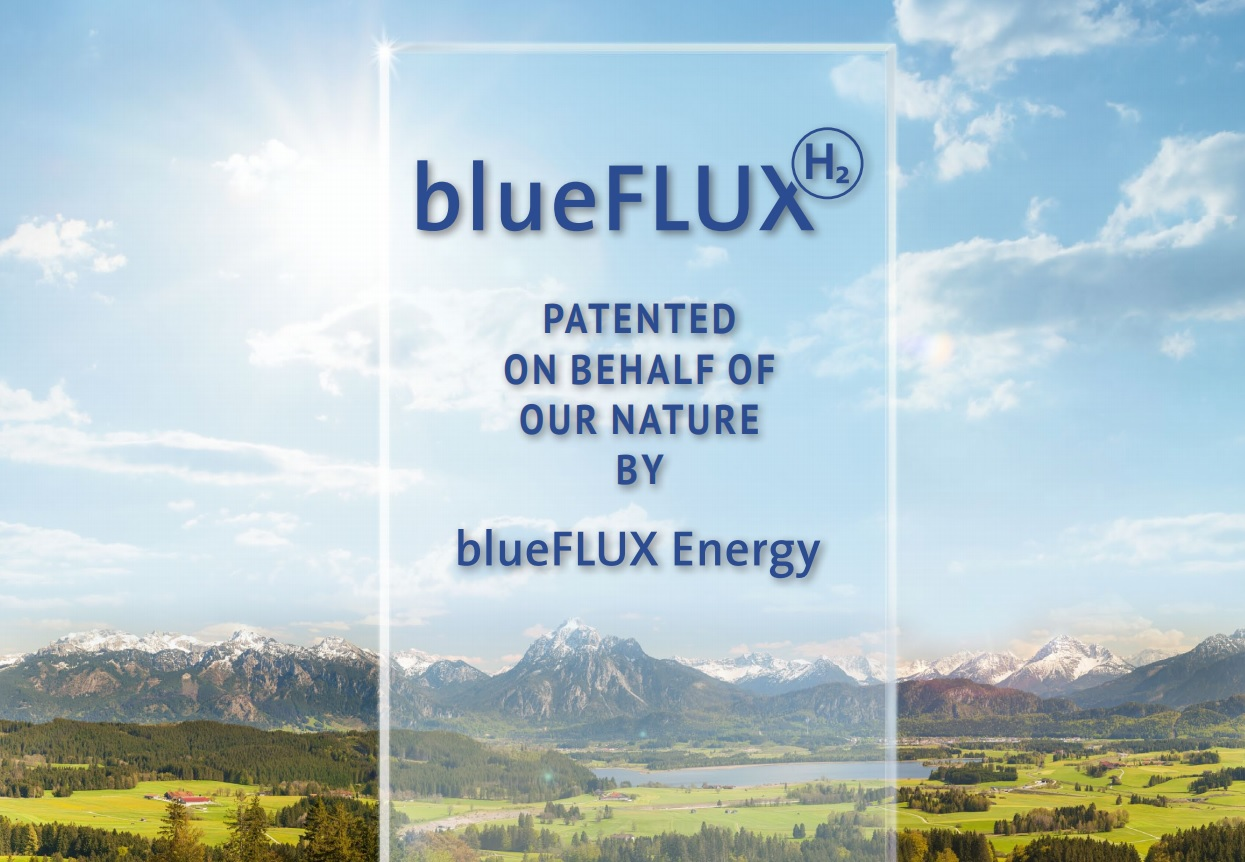 blueFLUX patented 102020